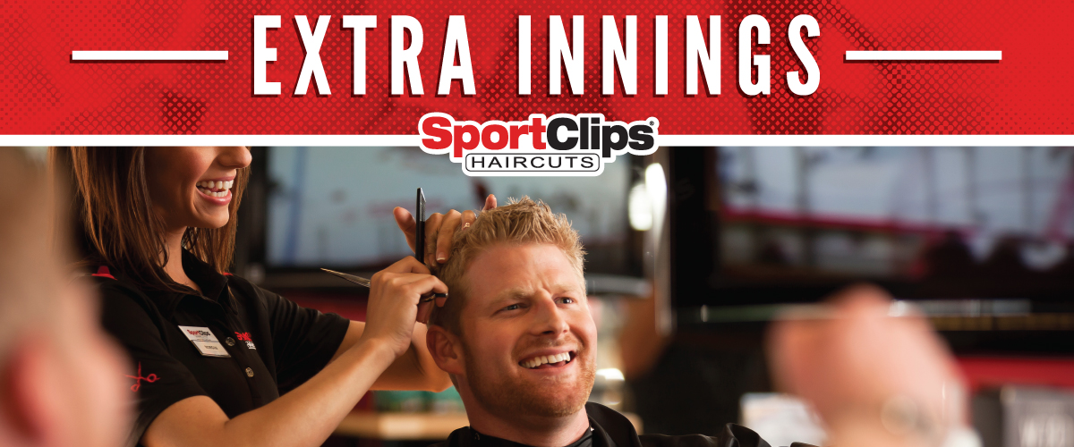 The Sport Clips Haircuts of San Ramon  Extra Innings Offerings