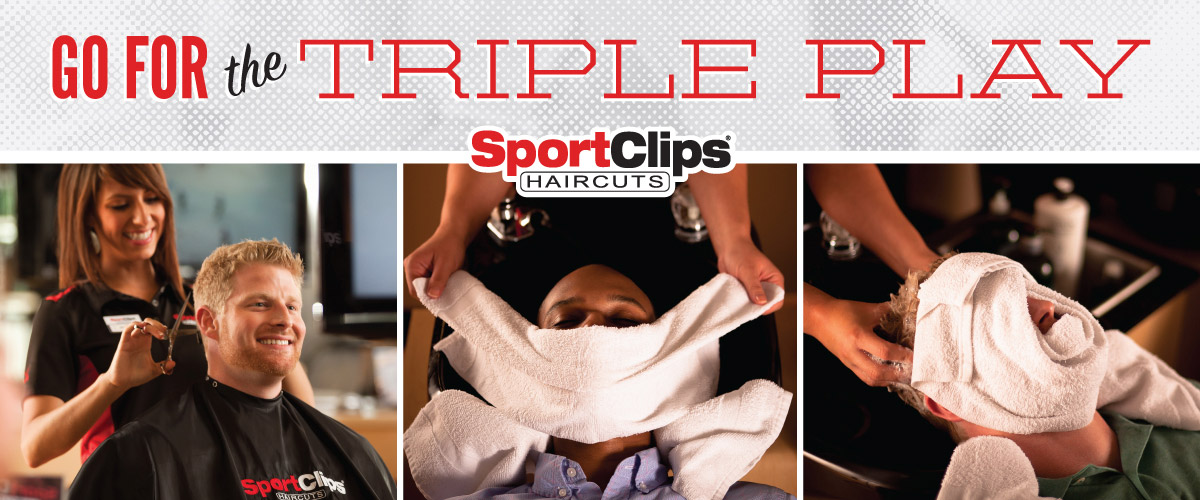 The Sport Clips Haircuts of San Ramon  Triple Play